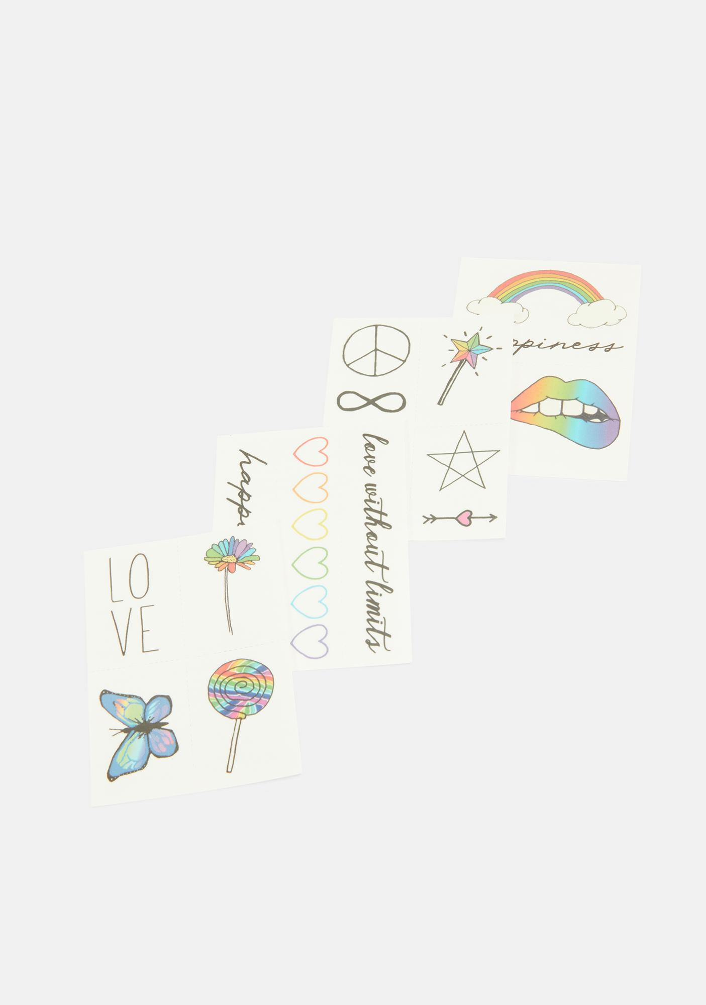 INKED by Dani The Pride Pack Temporary Tattoos