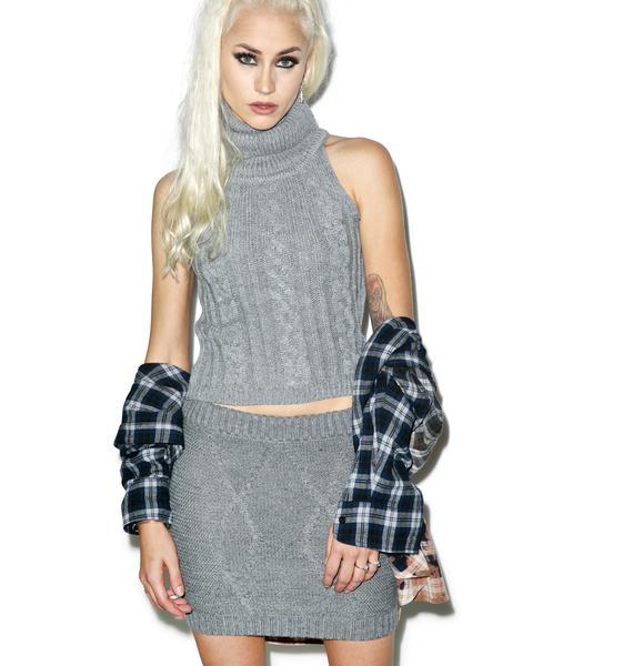 Street Smart Knit Skirt