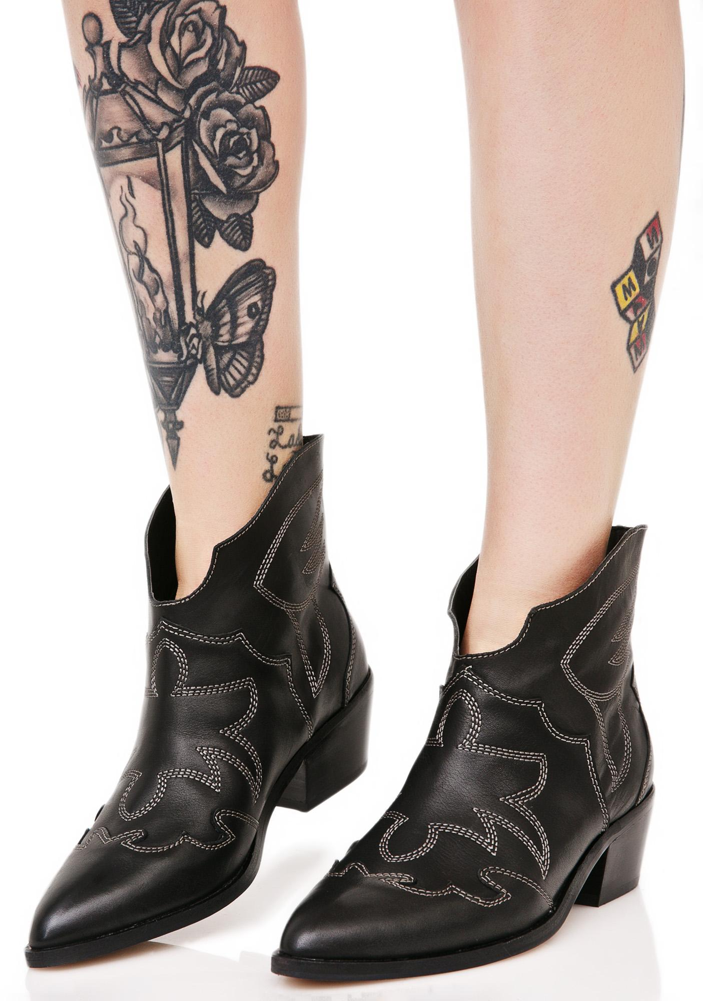 Chinese Laundry Fiona Western Boots