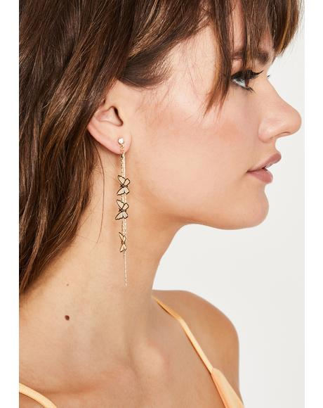 Passing Premonition Drop Earrings