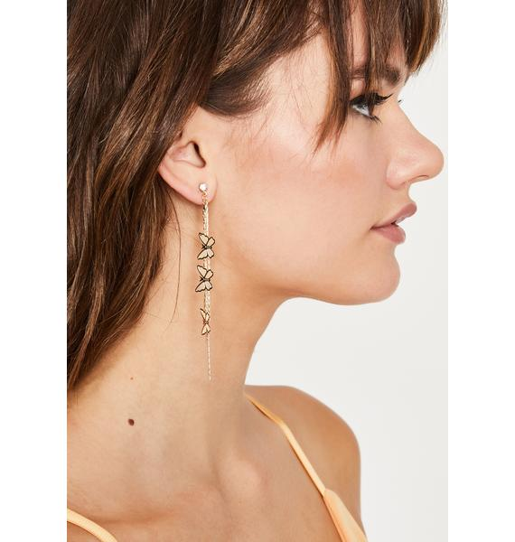 Passing Premonition Drop Earrings