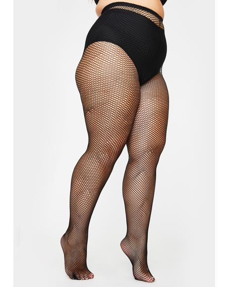 Her Freaky Tendencies Fishnet Tights