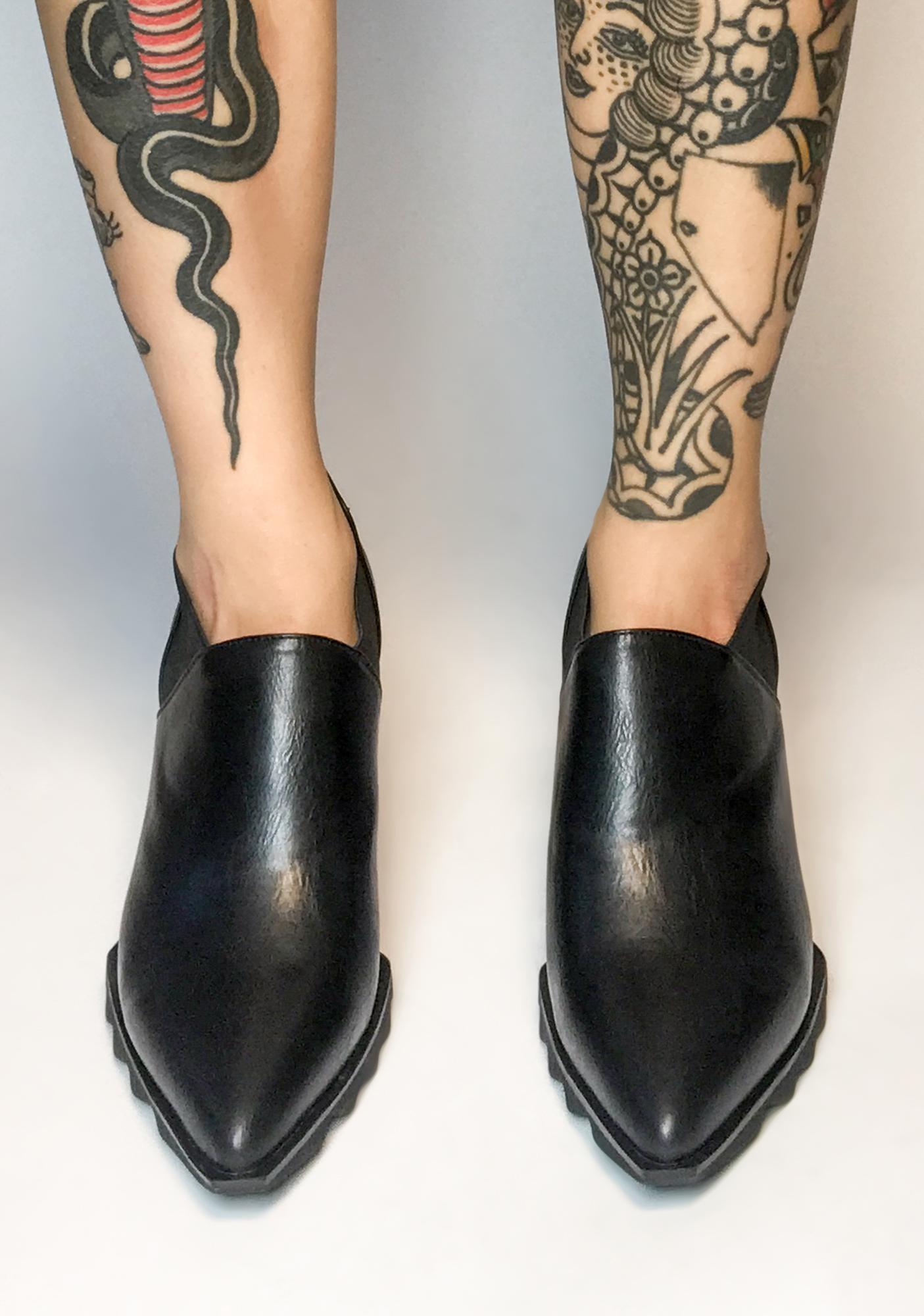 Lamoda Aspirin' Dreams Spiked Boots