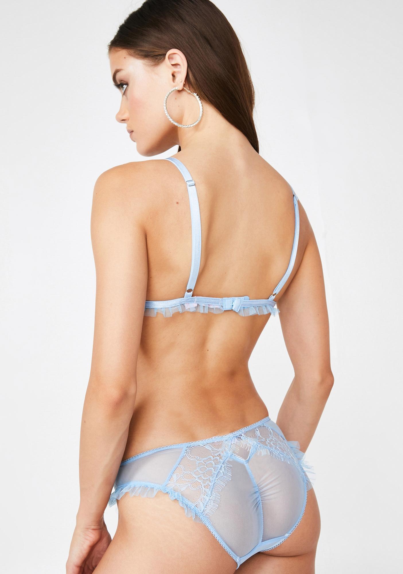 Sugar Thrillz Madame Frou Frou Ruffled Panty