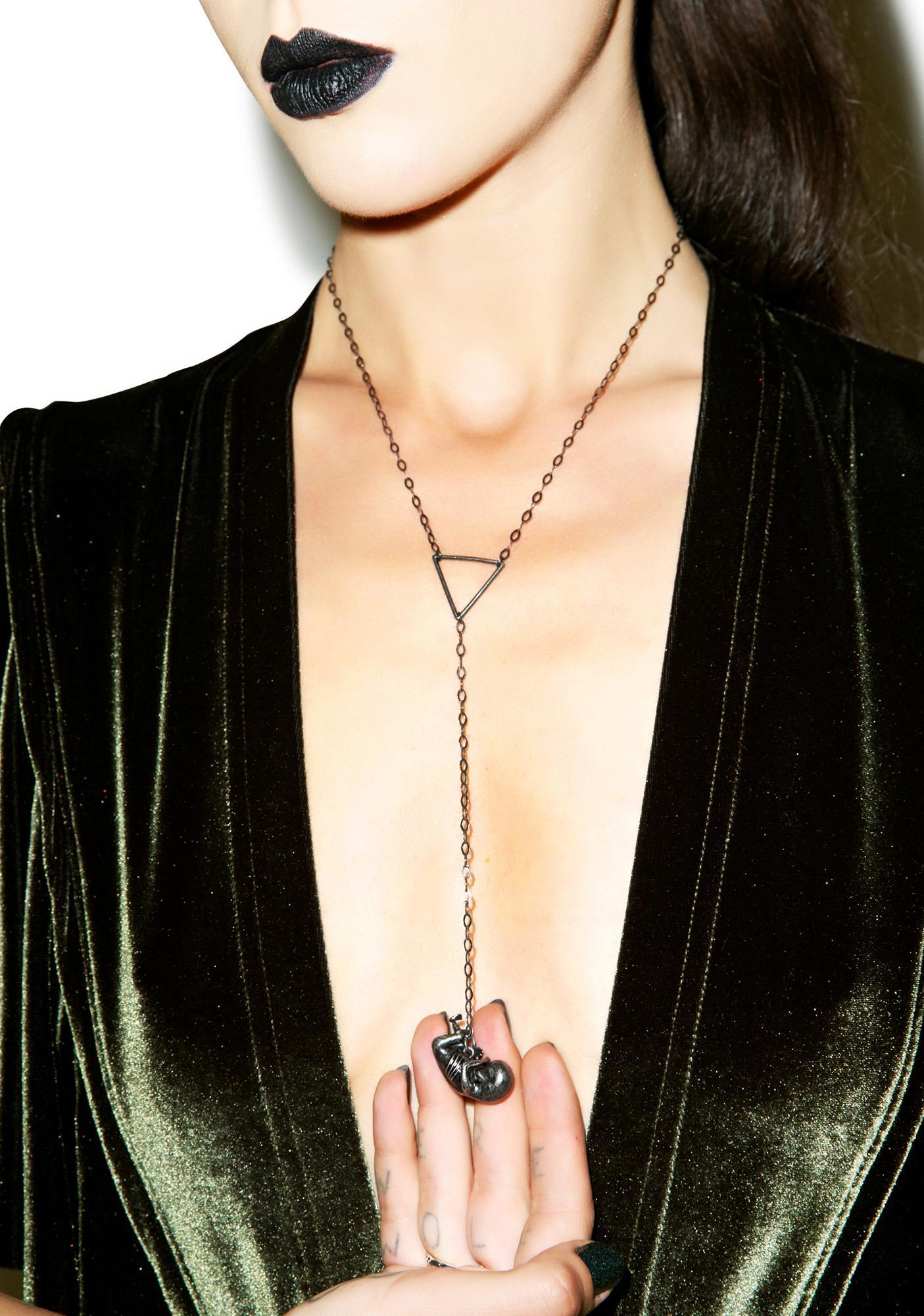 Disturbia Umbilical Noose Necklace