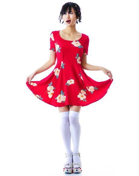 Flower Effect Dress