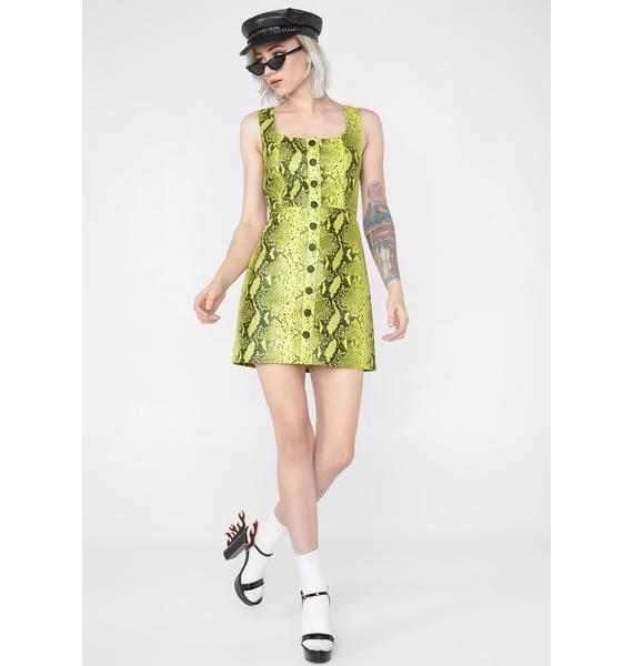 Venomous Seduction Mini Dress