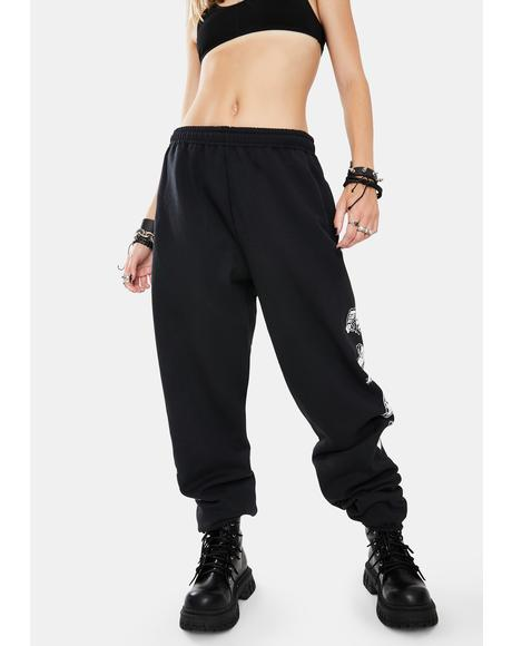 How To Love Graphic Sweatpants