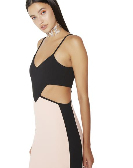 Cut To The Chase Bodycon Dress