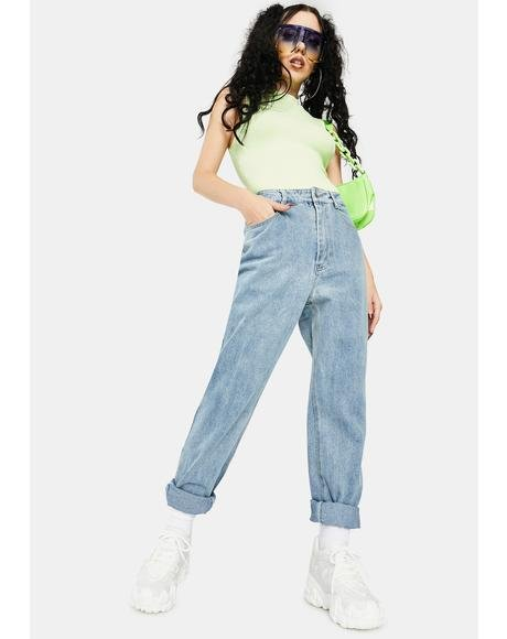 Harlow Denim Mom Jeans