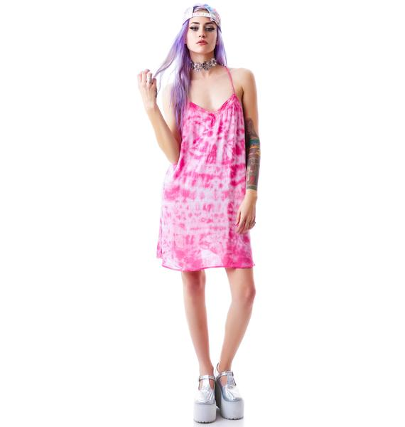 Joplin Tie Dye Slip Dress