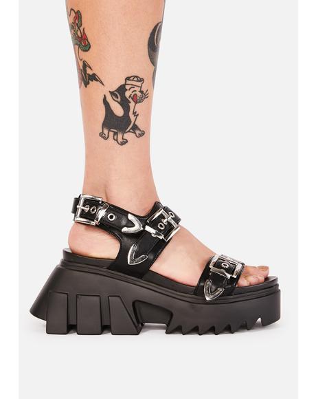 Easy Life Platform Sandals