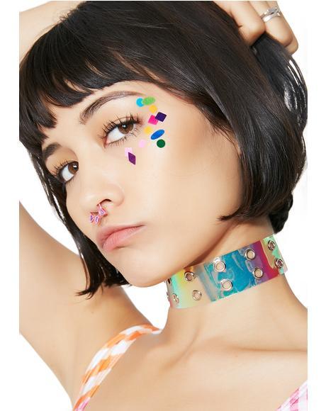 Face Chart Felt Stickers
