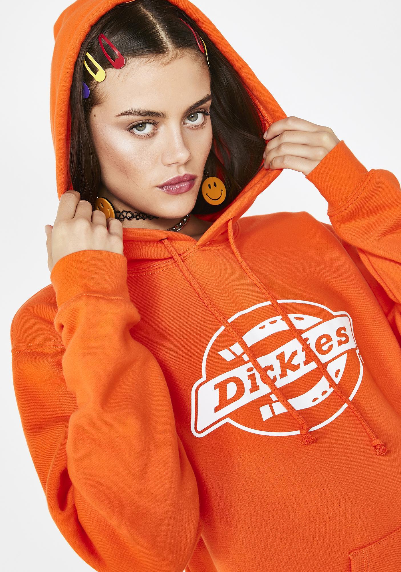 Dickies Girl Horseshoe Logo Fleece Hoodie