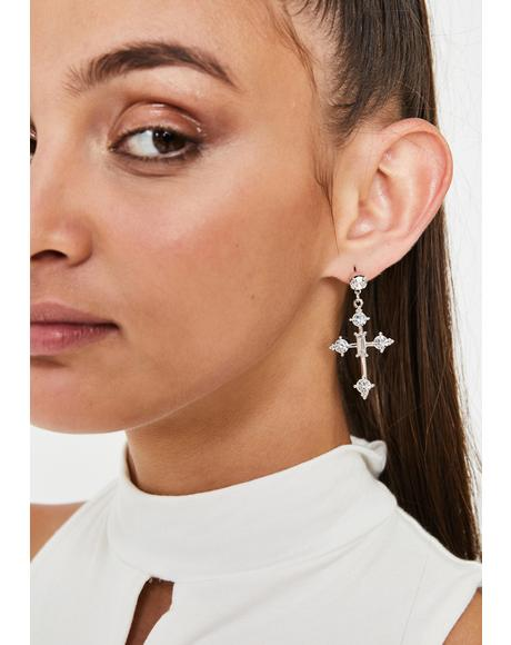 Sinners Anonymous Drop Earrings