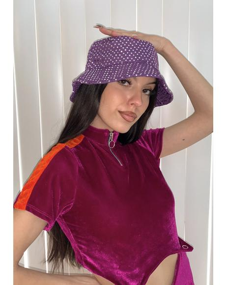 Lavender Total Glow Up Bucket Hat