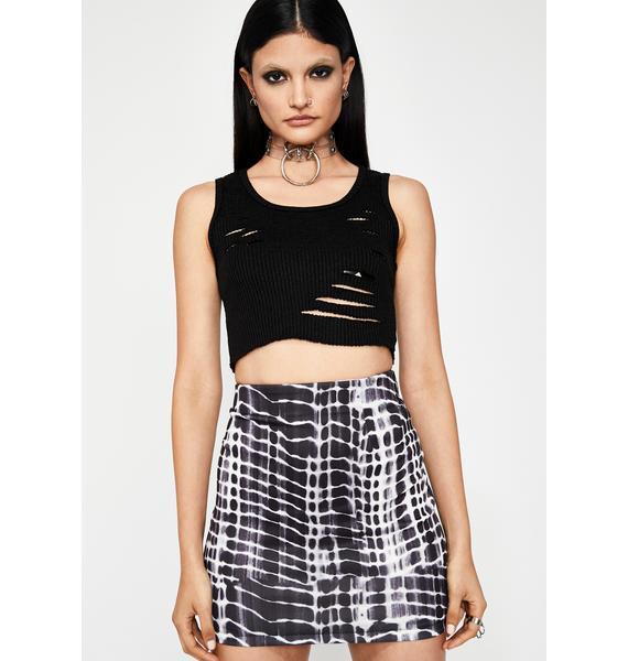 Wicked Rich Grl Mini Skirt