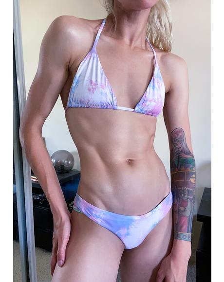 Funfetti Tasha Bikini Top