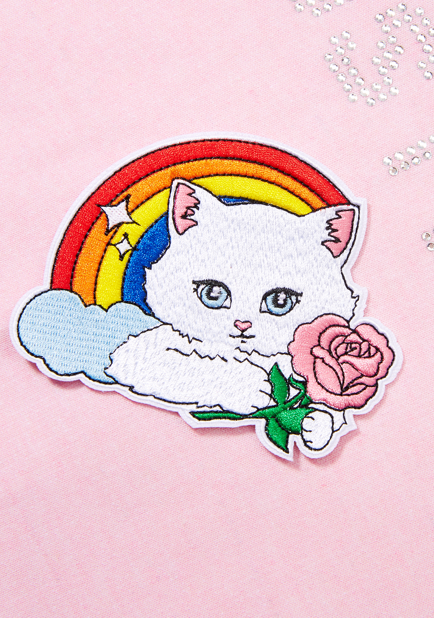 Laser Kitten Rainbow Kitty Patch