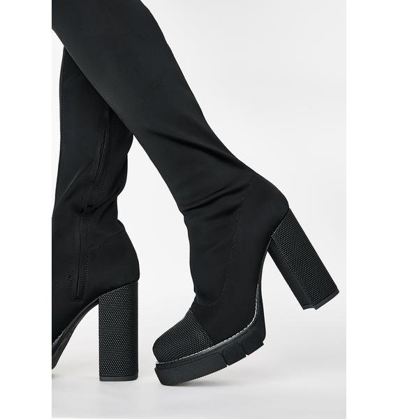 Public Desire Critic Over The Knee Boots