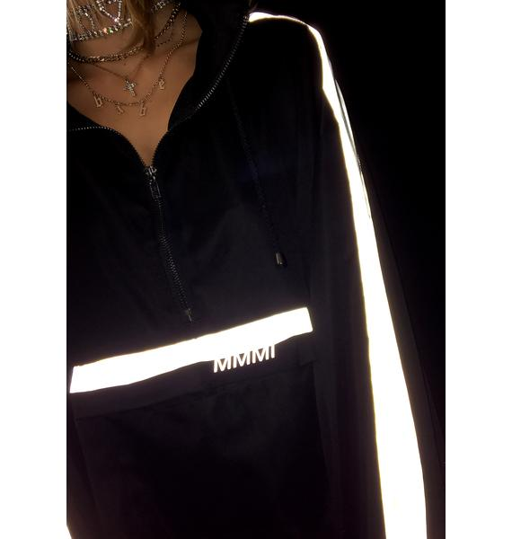 My Mum Made It 3M Reflective Stripe Pullover