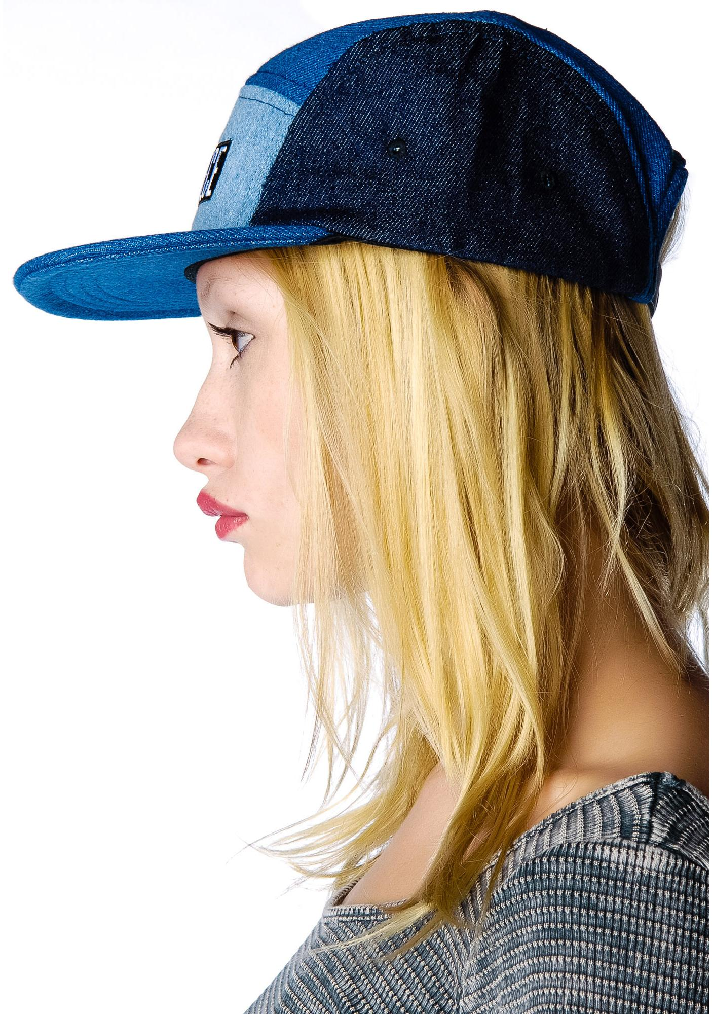 Dimepiece 4 Way Denim Hat