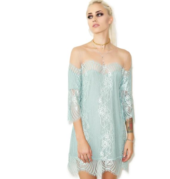 For Love & Lemons Belle Mini Dress