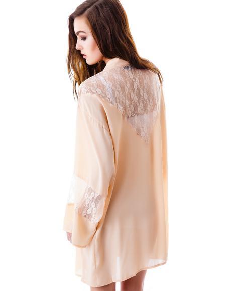 Moonlight Dream Lace Kimono