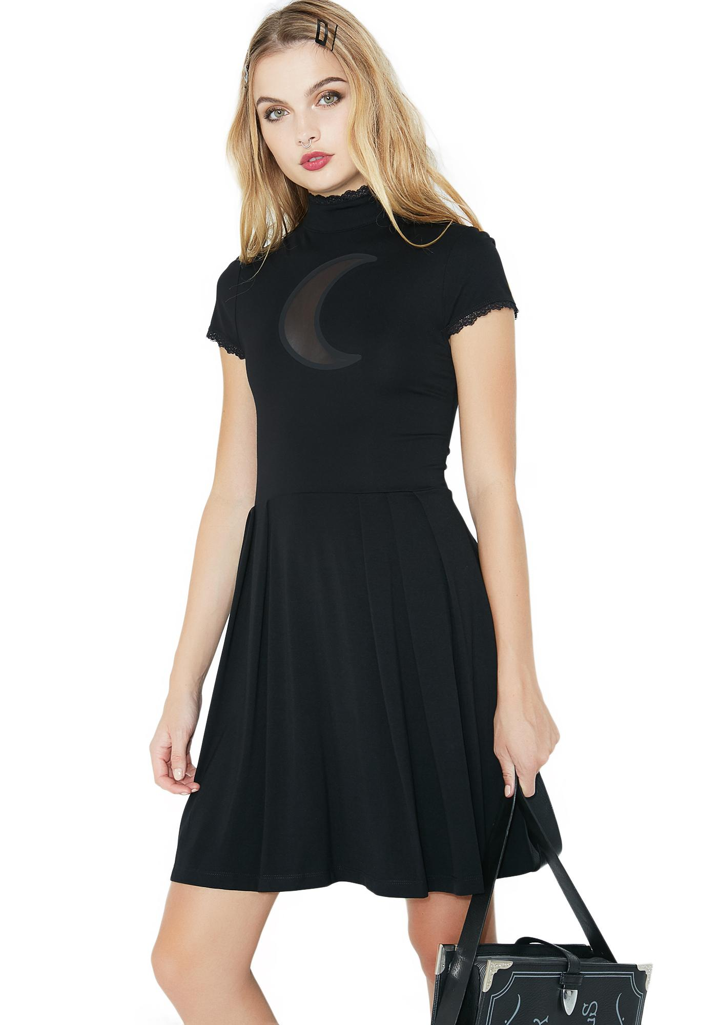 Killstar Neverafter Nytes Skater Dress