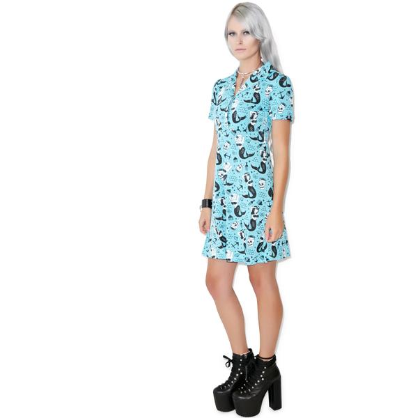 Sourpuss Clothing Rosie Mermaid Dress