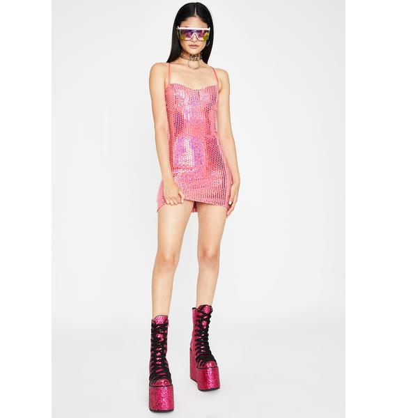 Cyber Desire Sequin Dress
