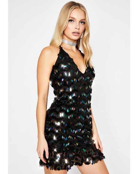 Midnight Siren Ecstasy Sequin Dress
