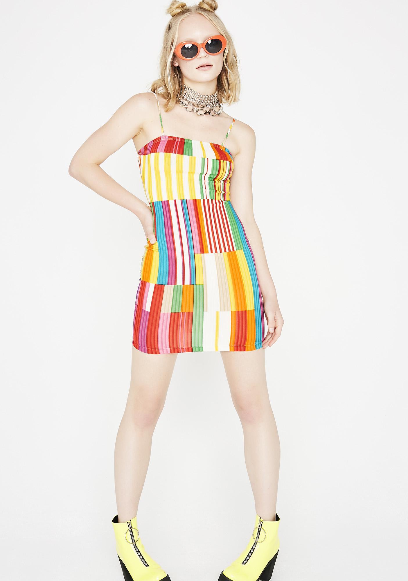 Bring The Fun Colorblock Dress