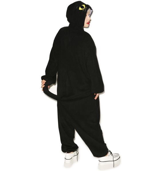 Sazac  Halloween Black Cat Kigurumi
