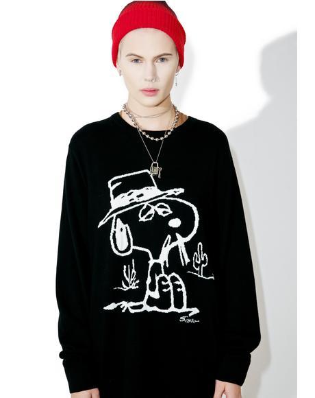 X Peanuts Spike Sweater