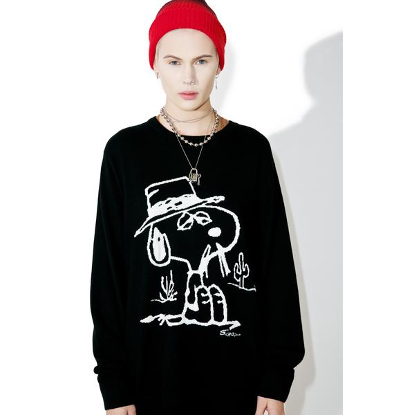 HUF X Peanuts Spike Sweater