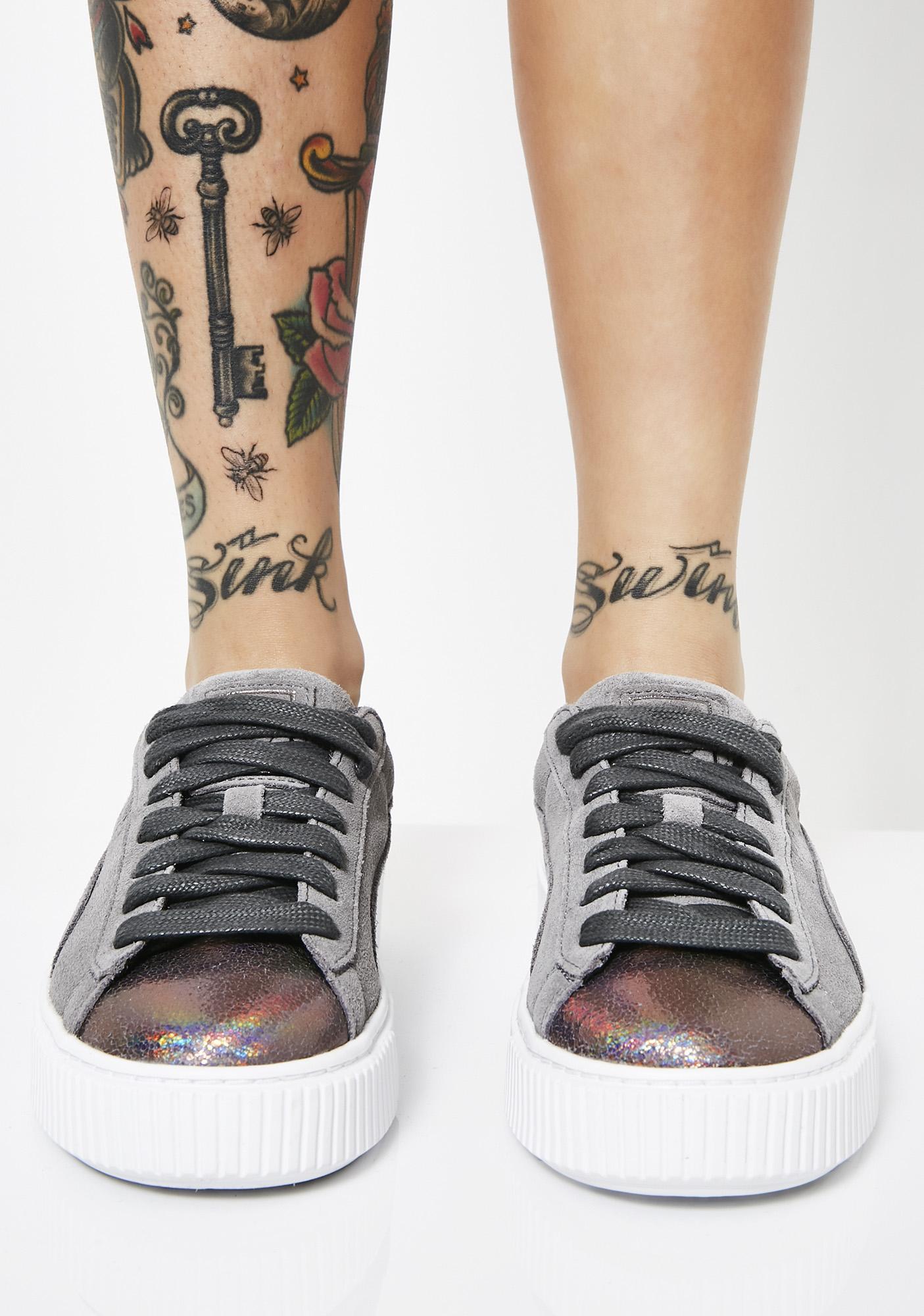 PUMA Suede Platform LunaLux Sneakers