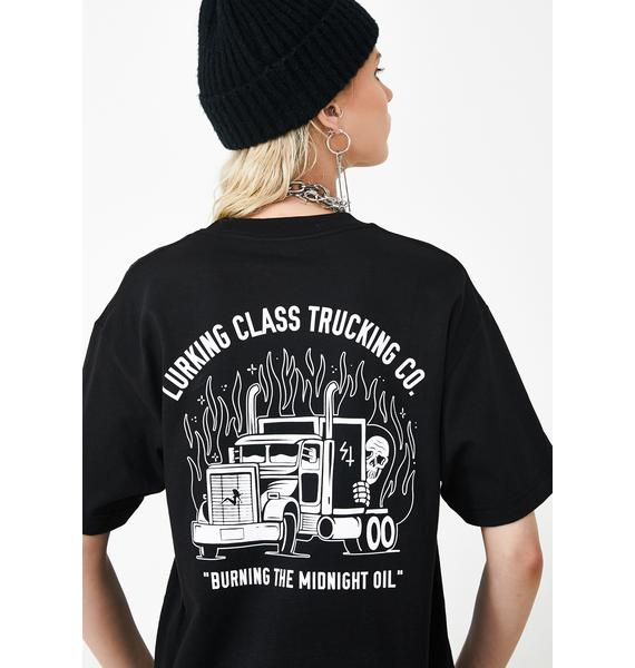 Lurking Class LC Trucking Co Tee