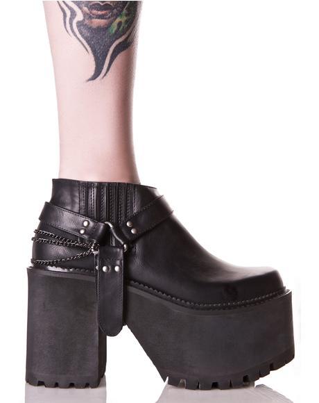 Siista Chunky Platform Boots