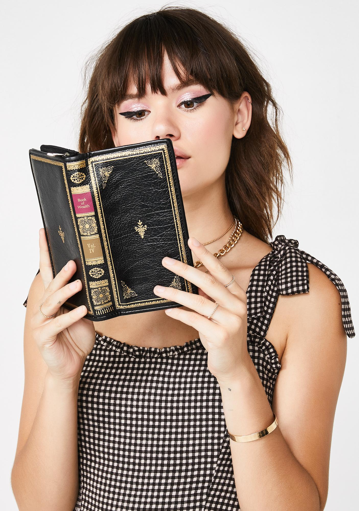 Book Worm Book Wallet