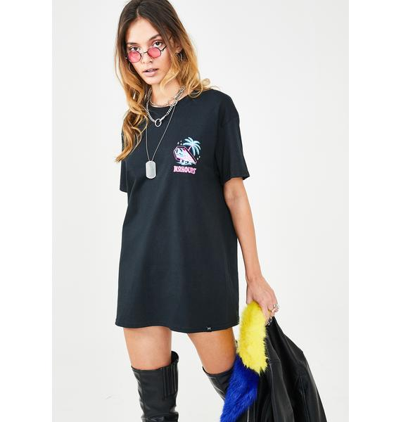 No Hours Not Here Graphic Tee