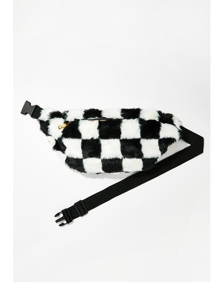 169940234b6e0 Checkin  Out Checkered Fanny Pack Checkin  Out Checkered Fanny Pack ...