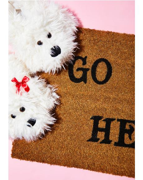 Go To Hell Door Mat