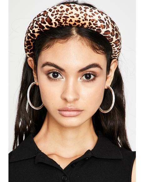 Fierce Facts Leopard Headband