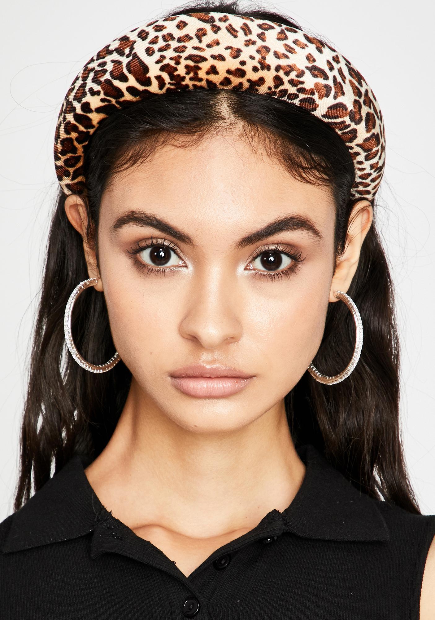 Fierce Facts Leopard Headband