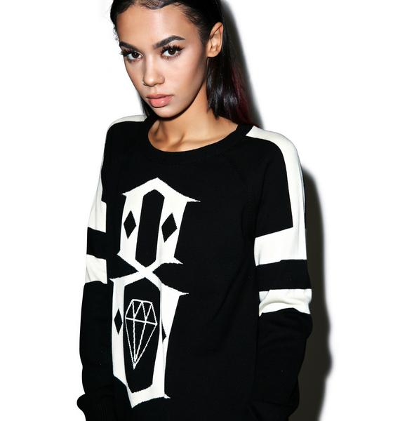 Rebel8 Big Logo Sweater