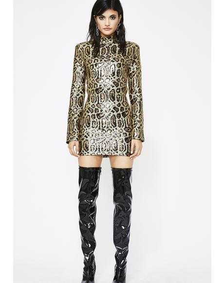 High Roller Sequin Dress