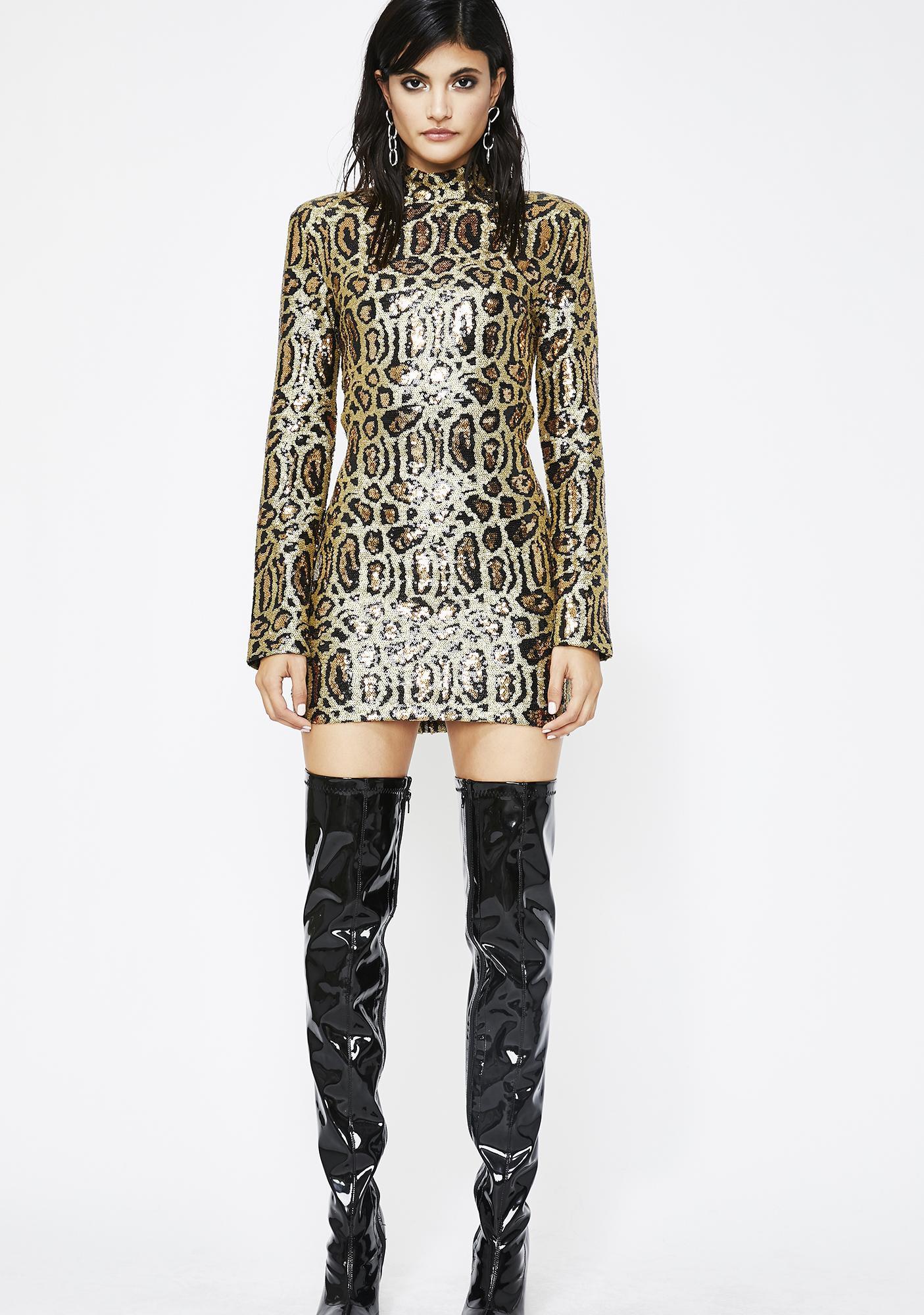 High Roller Sequin Dress