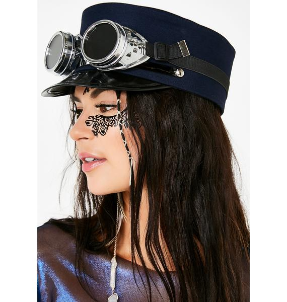 Dust Conductor Hat N' Goggles Set