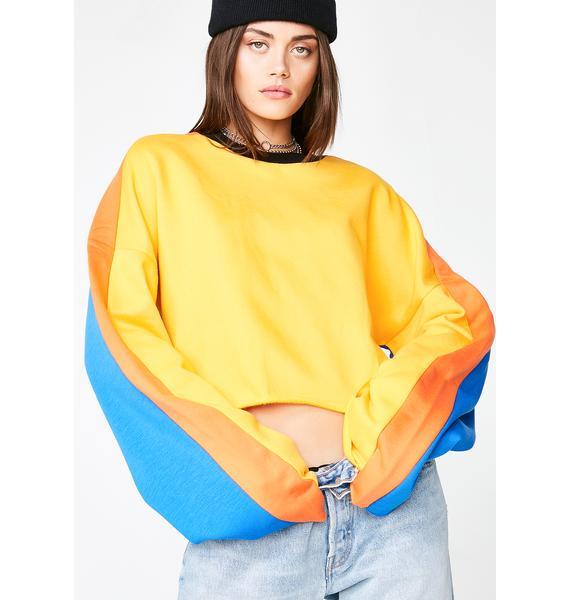 The Ragged Priest Sunburst Sweatshirt